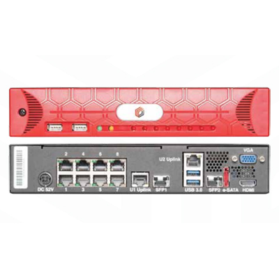Salient Systems RED3 8PORT client, server and switch for professional video surveillance
