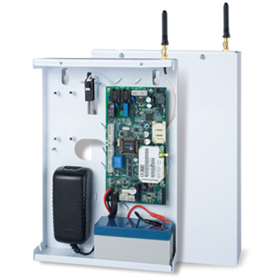 RISCO Group AGM Wired BUS Version enables remote Upload/Download programming over GSM, of the ProSYS or WisDom security systems