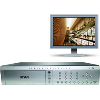 RISCO Group Net DVR 7016 NVR with advanced variable or constant bit rate compression