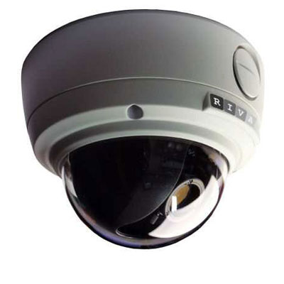 RIVA RC3500M-5111 H.264 megapixel indoor/outdoor dome IP camera