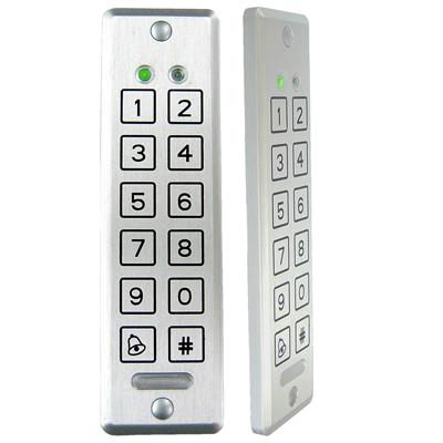 AYC-E55  Rosslare <em>Convertible</em> 2x6 Ultra-Slim Piezoelectric PIN Reader / Controller