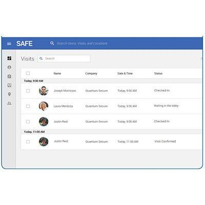 HID SAFE™ Visitor Manager Enterprise Class Visitor Management Solution