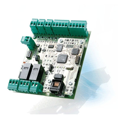 SALTO CU50EN IP door controller with two wall reader connections