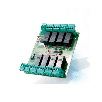 SALTO EB5008 access control controller accessory for managing multi relay switchable output systems