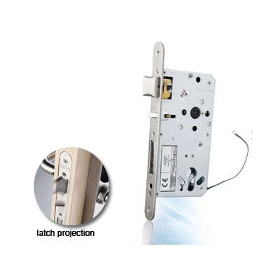SALTO XS4 Euro Lock electronic locking device with panic function and deadbolt detector option
