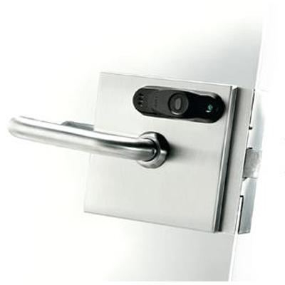 SALTO XS4 Glass door lock for use with glass door designs