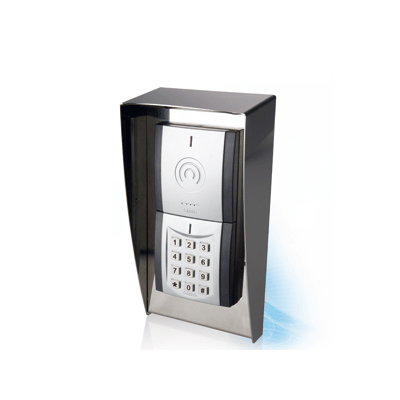 SALTO XS4 RFID modular wall reader for special wall mounting with keypad