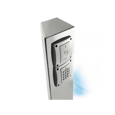 SALTO XS4 WRM Pedestal access control system accessory for the installation of readers and controllers