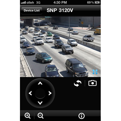 iPOLiS Mobile - iphone smartphone application for iphone OS