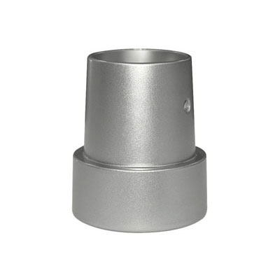 Hanwha Techwin America SBP-43 pipe coupling adaptor for SCP domes - silver