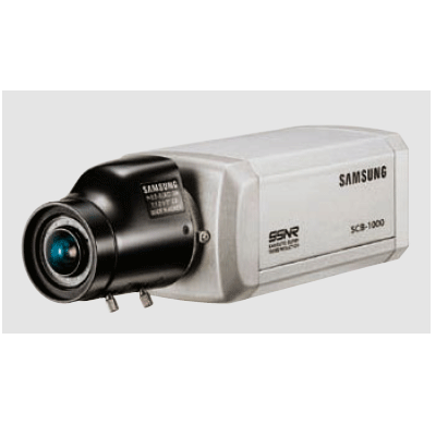 Samsung SCB-1000 CCTV camera with digital noise reduction