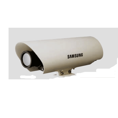 Hanwha Techwin America SCB-9051 CCTV camera with weather resistant protection