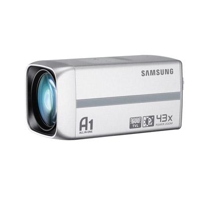 Samsung SCC-C4253P 43x optical zoom lens camera