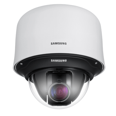Samsung SCC-C7455P dome camera with IP66 protection