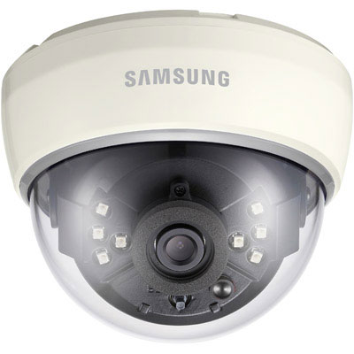 Hanwha Techwin America SCD-2022RP/2042RP IR dome camera with 700 TVL resolution