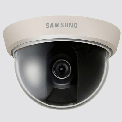 Hanwha Techwin America SCD-2030 dome camera ideal for small areas like elevators and indoor applications
