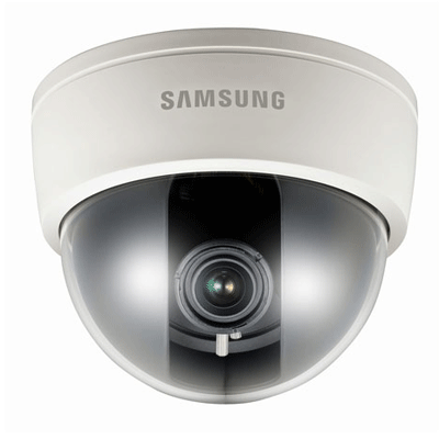 Samsung SCD-2080 dome camera with dual power