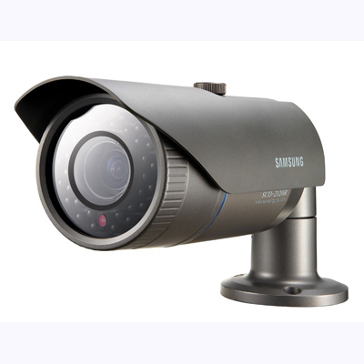 Samsung SCO-2120RP zoom camera with built-in 'Adaptive illumination' IR LEDs