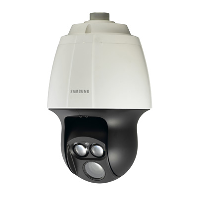 Samsung SCP-2370RH weatherproof 37 x zoom PTZ dome camera with built-in IR LEDs