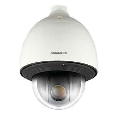 Hanwha Techwin America SCP-2371HN motion detection PTZ dome camera