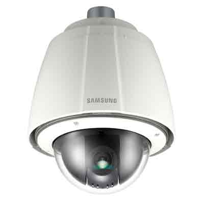 Hanwha Techwin America SCP-3370TH WDR PTZ camera with auto tracking functions