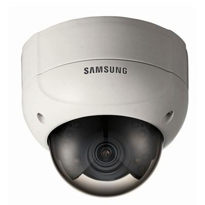 Samsung SCV-2080R dome camera with OSD menu access via coaxial telemetry