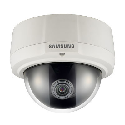 Hanwha Techwin America SCV-2081 600 TV lines vandal-resistant dome camera