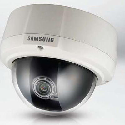 Hanwha Techwin America SCV-2081P external varifocal high resolution vandal resistant dome camera