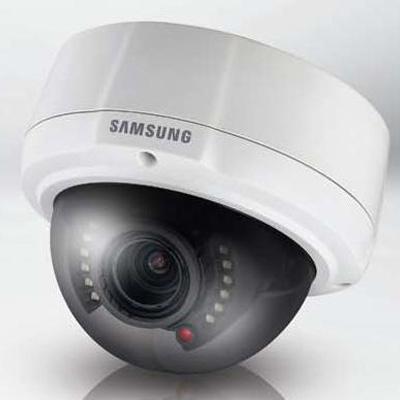 Samsung SCV-2081R high resolution IR vandal resistant dome camera