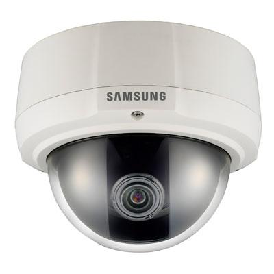 Hanwha Techwin America SCV-2081RP 600 TVL IR vandal-resistant dome camera