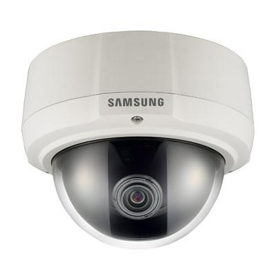 Hanwha Techwin America SCV-3081 600 TV lines vandal-resistant dome camera