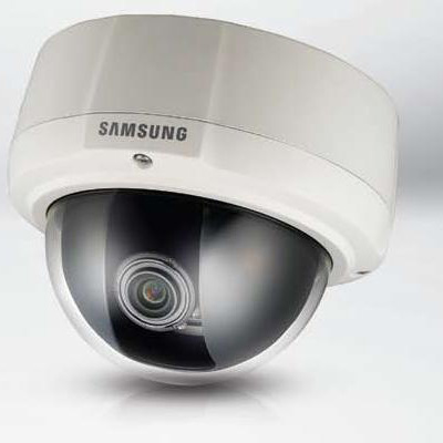 Samsung SCV-3081P high resolution vandal-resistant dome camera