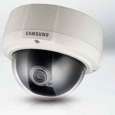 Hanwha Techwin America SCV-3081P high resolution vandal-resistant dome camera