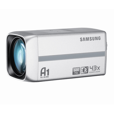 Samsung SCZ-2430 CCTV camera with powerful 43x optical zoom