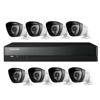Hanwha Techwin America SDS-P4082 8 channel real-time digital video recoder