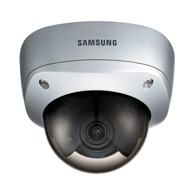 Samsung SIR-4250S colour/monochrome dome camera with 1/3 inch chip
