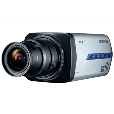 Samsung SNC-B2335 IP camera with privacy mask