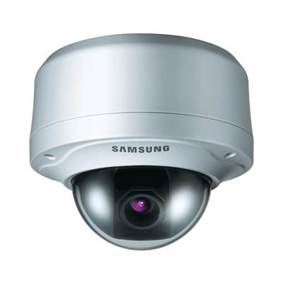 Hanwha Techwin America SNC-B5399 dome camera with SD memory slot for internal recording