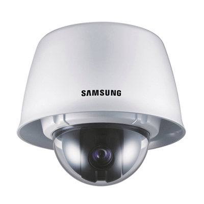 Hanwha Techwin America SNC-C7225 dome camera with scheduled preset function