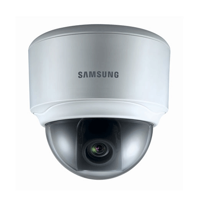 Samsung SND-3080 Flush mount dome camera with motion detection
