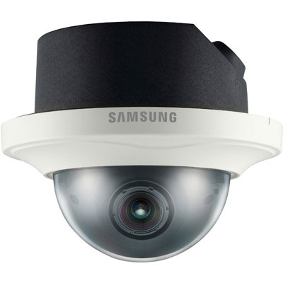 Hanwha Techwin America SND-7080F full HD network dome camera with 3 megapixel resolution