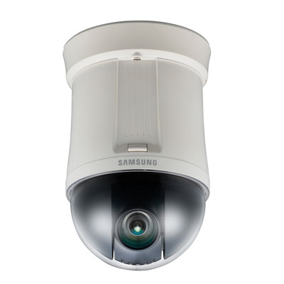 Hanwha Techwin America SNP-3371 indoor PTZ IP dome camera