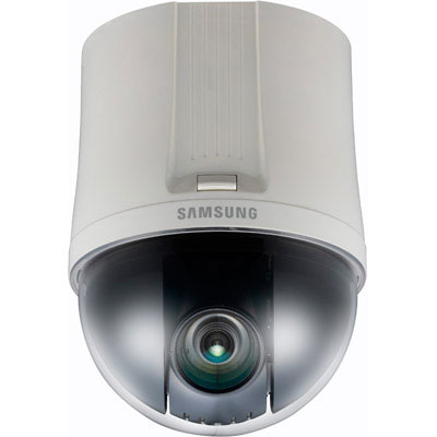 Hanwha Techwin America SNP-6200N/P PTZ dome camera with 2 megapixel resolution