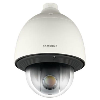Hanwha Techwin America SNP-6201H 1/3 inch colour / monochrome IP dome camera