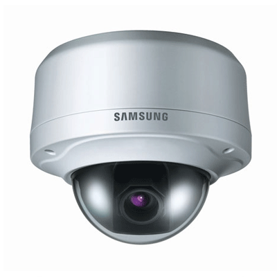Samsung SNV-3080 H.264 true day / night dome camera with extended dynamic range