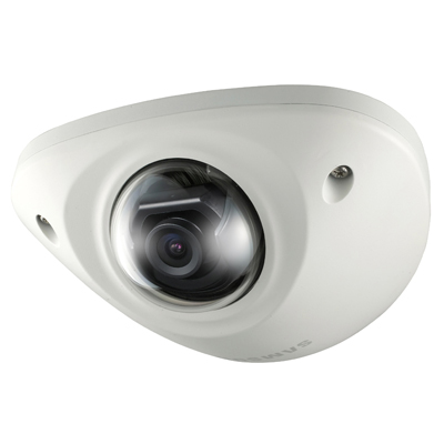 Hanwha Techwin America SNV-5010 vandal resistant network dome camera on the right tracks for European railway industry