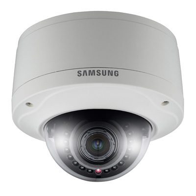 Hanwha Techwin America SNV-5080R dome camera with progressive scanning system