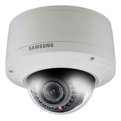 Samsung introduce new network HD megapixel vandal resistant domes with built-in IR LEDs