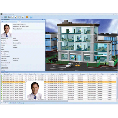Hanwha Techwin America lite access management software