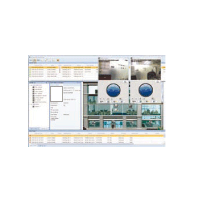 Hanwha Techwin America SSA-M2000 access control software with access control and integrated video
